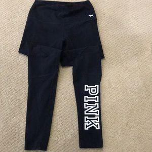 VS PINK leggings.